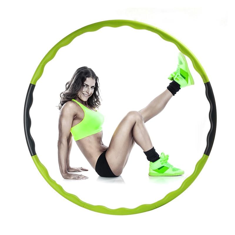 80cm Abdominal Slimming Sport Hoop Body Building Weight Loss Hard Tube Equipment Waist Fitness Gym Fitness Equipment