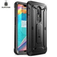 Case For OnePlus 6 SUPCASE UB Pro Full Body Rugged Holster Protective Cover with Built in Screen Protector For One Plus 6 Case