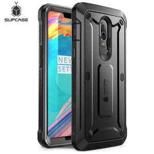 Image 1 - Case For OnePlus 6 SUPCASE UB Pro Full Body Rugged Holster Protective Cover with Built in Screen Protector For One Plus 6 Case