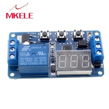 Automation Relay YYC-2 DC12V Module LED Display Digital Delay Timer Control Switch Hot Selling
