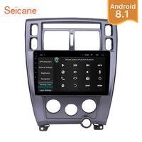 Seicane Android 8.1 Touchscreen 10.1 2Din Car Radio Bluetooth GPS Multimedia Player For 2006 2013 Hyundai Tucson LHD Head Unit