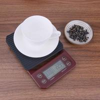 3 кг/0,1 г 5 кг/0,5 г капельные портативные кофейные весы с таймером Электронные Цифровые Кухонные высокоточные весы ЖК электронные весы