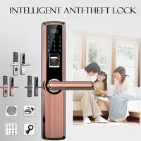 Безопасность Электронный Digtial замок, Keyless цифровой замок сейфа двери смарт карты клавиатуры пароль Pin код дверной замок для умного дома