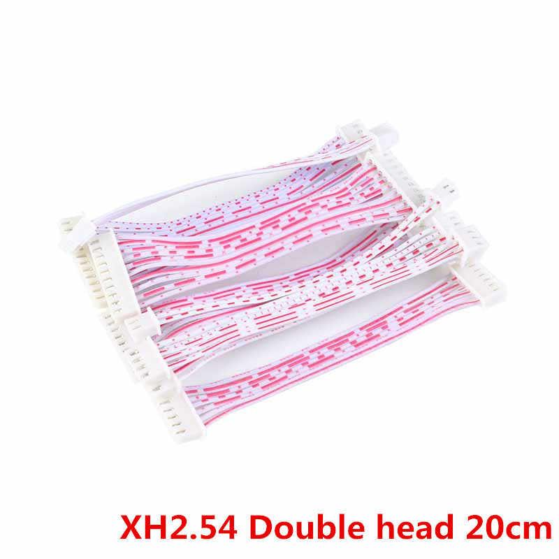 25Pcs JST 2 54mm Pitch Connector Cable XH2 54 Plug Line length 20/10CM Red  and white 2P/3P/4P/5P/6P/7P/8P/9P/10P/11P/12P