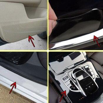 10 ซม./15 ซม./20 ซม.* 300CM โปร่งใสรถสติกเกอร์ป้องกันฟิล์ม PPF รถ Paint Protection ฟิล์มรถป้องกันฟิล์ม Wrap อุปกรณ์เสริ...