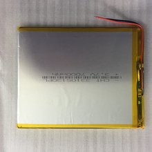 lithium polymer battery 3.3x105x130mm 3.7v 7000mah tablet battery 2 wire safetypacking level4 5pcs rechargeable lipo battery cell 3 7 v 8873130 10000 mah tablet battery brand tablet gm lithium polymer