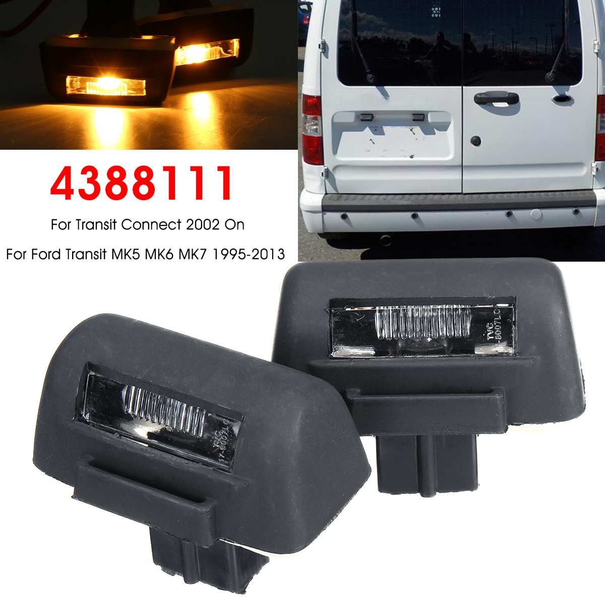 Right Side FORD TRANSIT MK7 Rear Tail Light Lamp 2006 ONWARDS