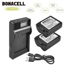 Bonacell 1500 mAh CGA-S006 CGR CGA S006E S006A S006 DMW-BMA7 Батарея + ЖК-дисплей Зарядное устройство для Panasonic DMC FZ7 FZ8 FZ18 FZ28 FZ50 L10