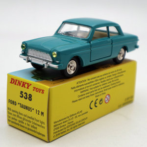 Image 5 - אטלס 1:43 Dinky צעצועי 538 פורד Taunus 12 M Diecast מודלים רכב מהדורה מוגבלת אוסף