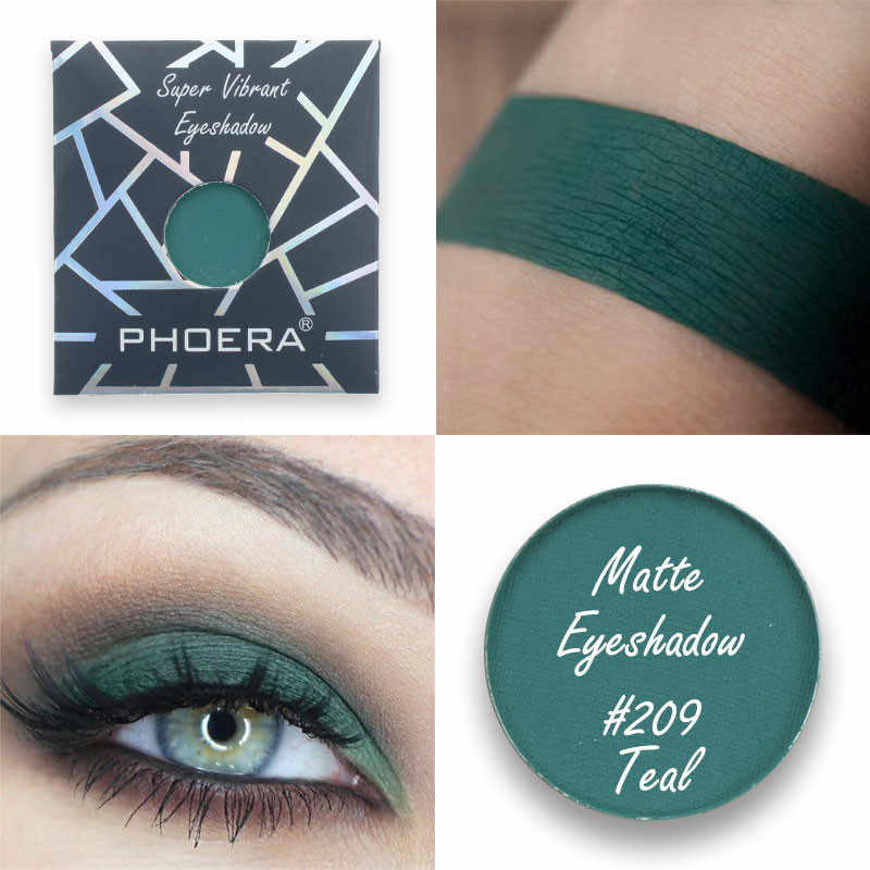 Phoera 12 Warna Natural Matte Eye Shadow Monochrome Mini Tahan Air Palet Eyeshadow Makeup Kecantikan Make Up Kosmetik TSLM1