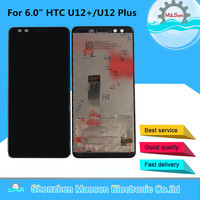 M&Sen For 6.0 HTC U12+/U12 Plus LCD Display Screen+Touch Panel Digitizer Screen For 2880*1440 HTC U12 Plus LCD Assembly
