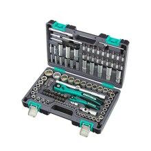 Набор ручных инструментов STELS 14122 12 гранные головки, 109 предметов
