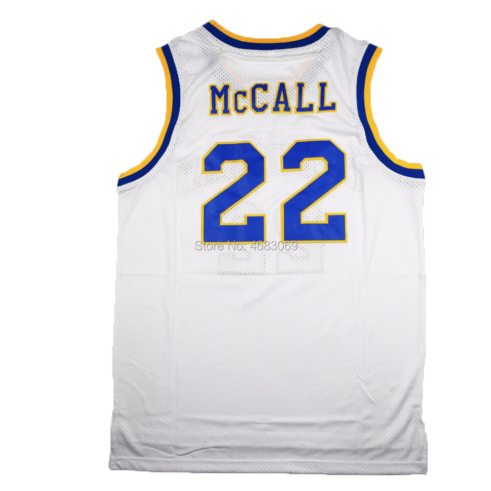AIFFEE Sports Tank Tops Love and Basketball Shirts #22 MCCALL #32 WRIGHT CRENSHAW Jersey Stitched US STOCK crenshaw
