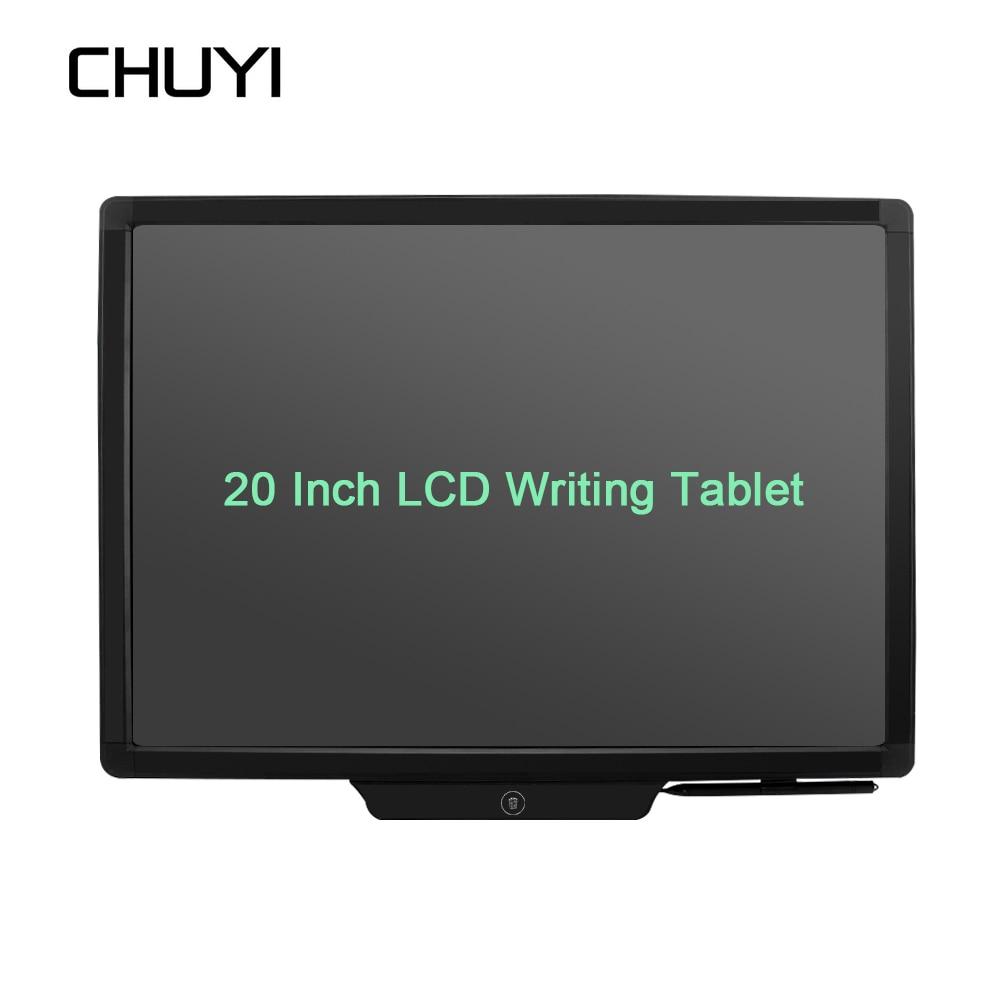 20 pouce LCD Tablette Sans Papier Tablette Graphique Électronique Écriture Bloc-Notes Message Planche à Dessin Pour Le Bureau/École