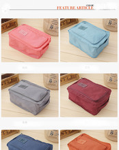 Fashion Bags Nylon Travel Portable Tote Shoes Pouch Waterproof Bag 4 Colors Home Storage & Organization