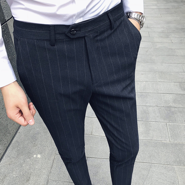 Grey Colour Formal Pant Black Grey 5 Color Men Formal Pant New Dress Pants Slim