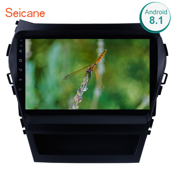 Seicane Car GPS Multimedia Player Radio For 2013 2014 2015 2016 2017 Hyundai IX45 SantaFe 9 Inch Android 8.1 2Din Head Unit image