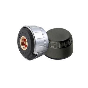 Image 5 - Neumático profesional sistema de supervisión de presión, sensores, con TPMS para motocicleta, antirretroceso con tuercas, color negro y plateado