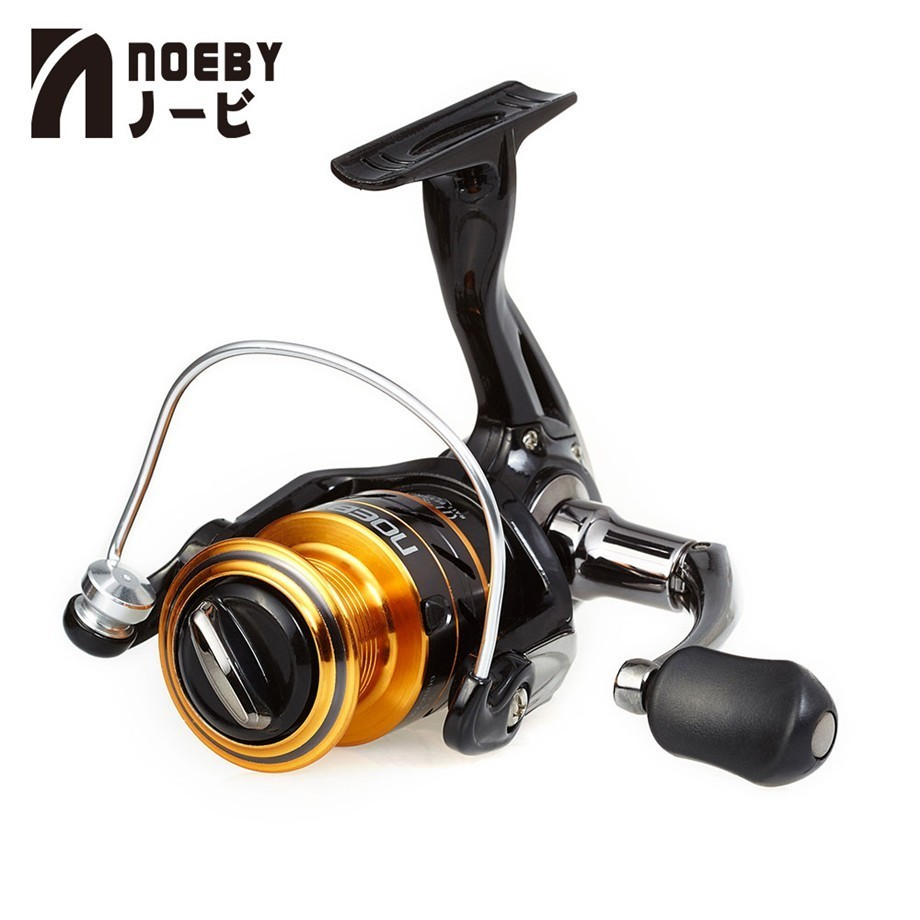 Noeby Leisure K2 Saltwater Spinning Fishing Reel Ratio 5.1:1 Corrosion Resistant Aluminium Alloy Spool Carp Fishing Tackle