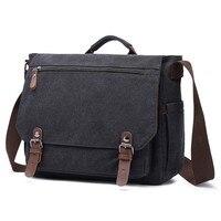 Men Messenger Bags Canvas Shoulder Bag Fashion Sac A Main Man Torebka Business Crossbody Bag Male Travel Handbag Bolso Hombre