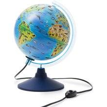 Глобус Globen Зоогеографический (Детский) с подсветкой 210мм