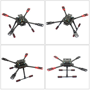 Image 4 - 10CH 2.4Ghz  X4 460mm 560mm Umbrella Folded RC Quadcopter 4 Axis ARF RTF Unassemble DIY GPS Drone APM PIX w/ Gimbal FPV Upgrade