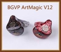 BGVP ArtMagic V12 12 Balanced Armature Driver In Ear Earphone HiFi Audiphile Monitor 0.78mm 2Pin Cable Custom IEM 12BA Earbuds