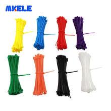 Самозакрывающиеся нейлоновые пластиковые кабельные стяжки ce