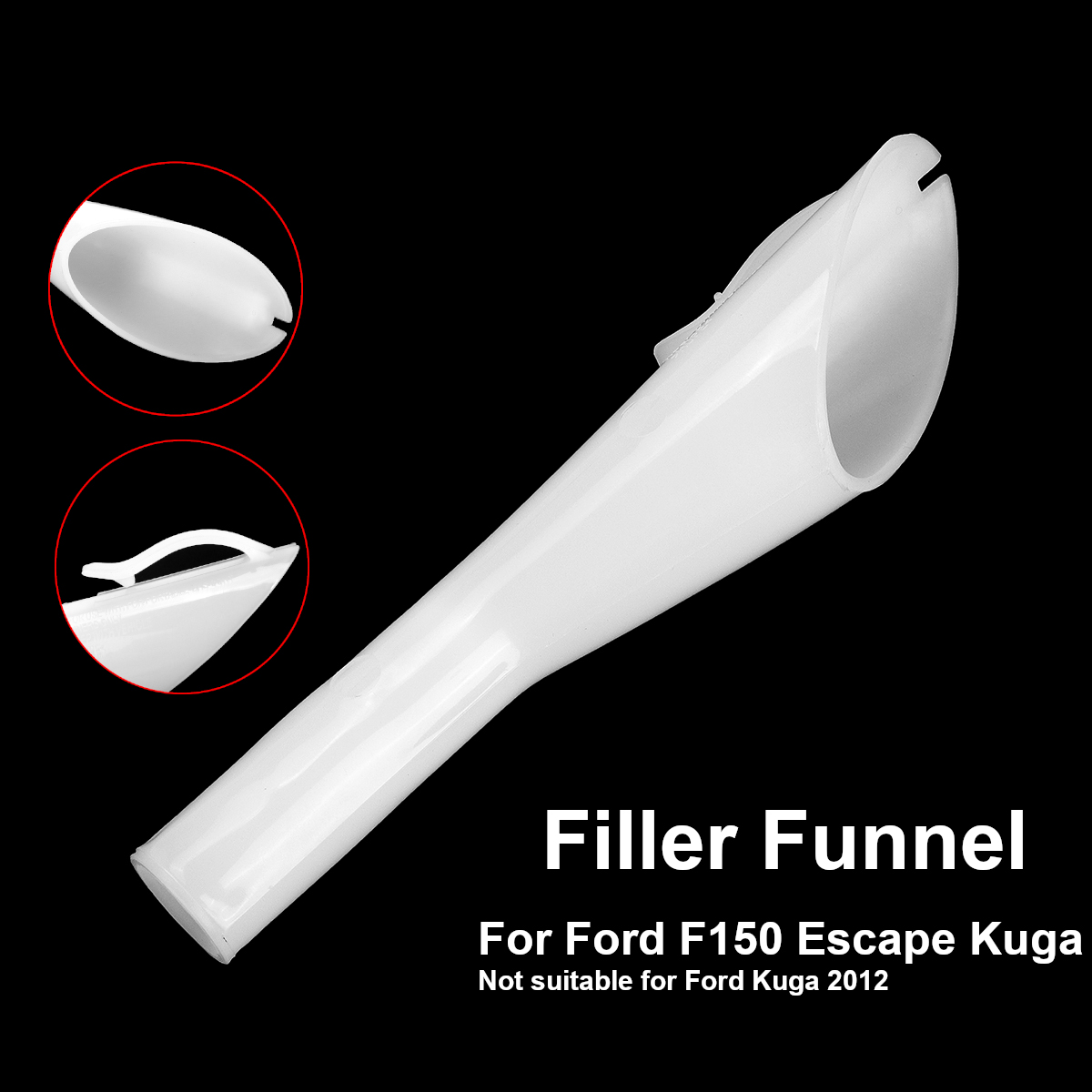 for ford escape for kuga pick up f150 for mondeo 2008 car petrol oil filler  funnel