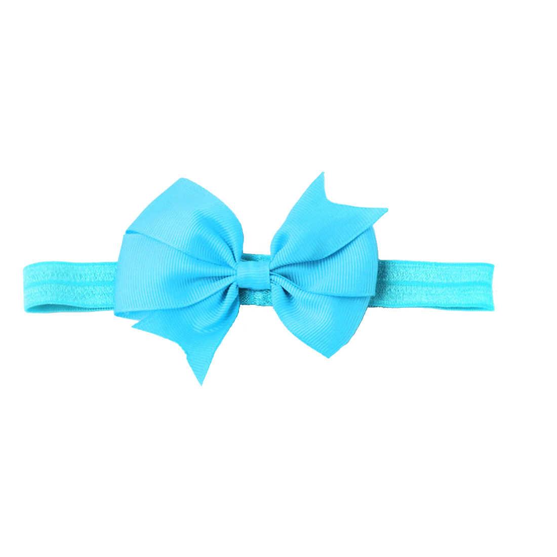 หญิง bow knot hairband head band headwrap เด็ก headbands headwear ทารกแรกเกิดเด็กวัยหัดเดินของขวัญ tiara อุปกรณ์เสริมผม