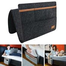 Bolsa de almacenamiento para cabecera de cama, organizador colgante de fieltro con bolsillos interiores para dormitorio WXV en venta