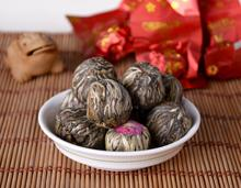 20 pcs Handmade Blooming Flower Tea Balls Art Herbal Tea Wedding Gift – 20 Kinds