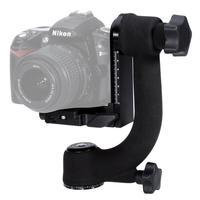 Professional Heavy Duty Metal Gimbal Ballhead 360 Panoramic Tripod Ball Head For Nikon Canon Sony Fujifilm DSLR Cameras