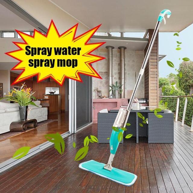 Spray Floor Mop Water Spraying Floor Cleaner Tiles Marble Kitchen