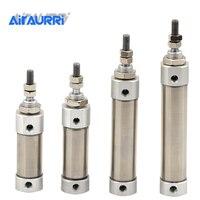CDJ2B Type Mini Pneumatic Air Cylinder Double Acting Single Rod 10mm 16mm Bore 10~150mm Stroke CDJ2B16