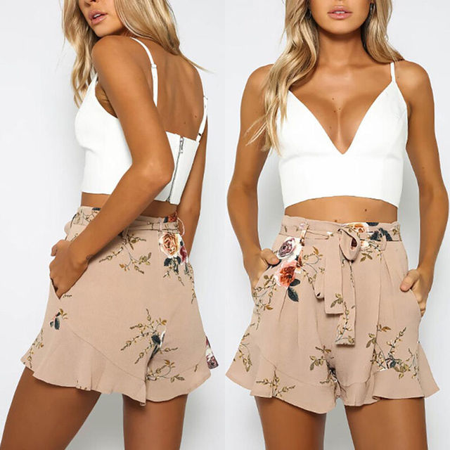 Print Sweet Girl Shorts 1