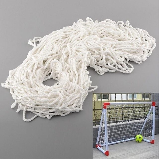 4x5ft Cotton Soccer Goal Post Net 1.2mx1.5m Folding Football Training Net Player Football Training Accessories