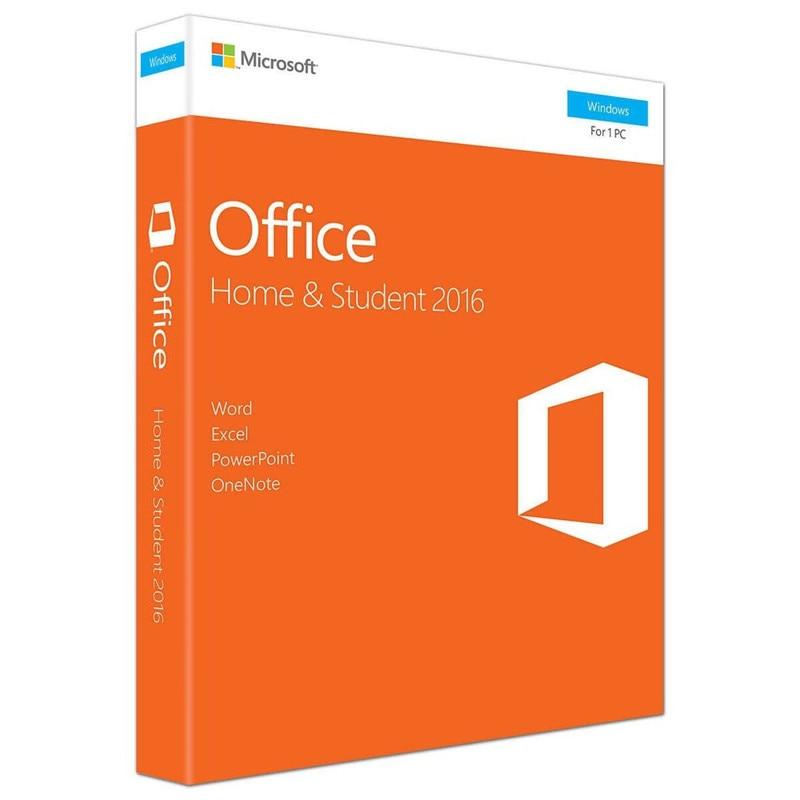 Microsoft Office accueil et étudiant 2016 pour windows détail boîte avec clé de produit Code PC télécharger - 2