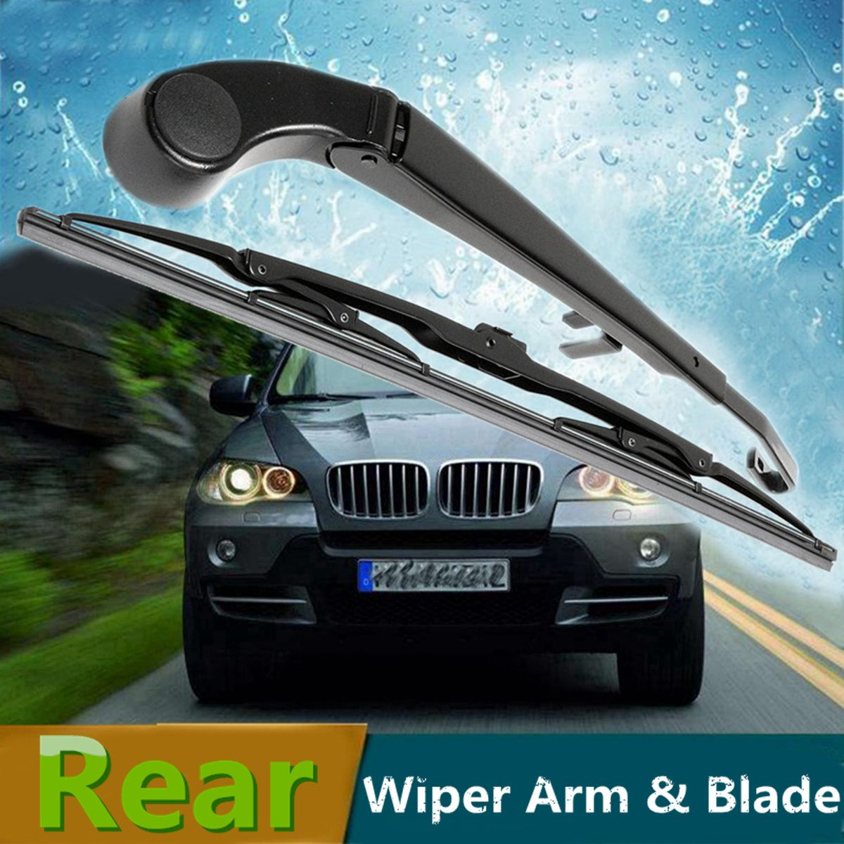 18/'/' Rear Wiper Blade /& Arm Windscreen Windshield For BMW X5 E53  61627068076