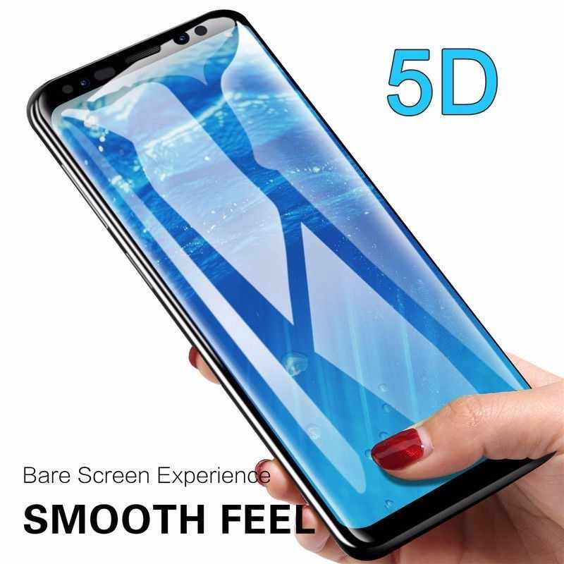 case for samsung j4 6 plus 2018 glas 5D protective glass on the glaxy j4plus j6plus j4+ j6+ j 4 6 4j 6j +  Full HD 9H film cover