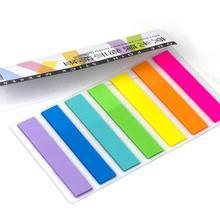 Этикетка memo sticker 120 листов точечный маркер ПЭТ Материал липкая заметка индекс прозрачная индикация наклейки этикетки