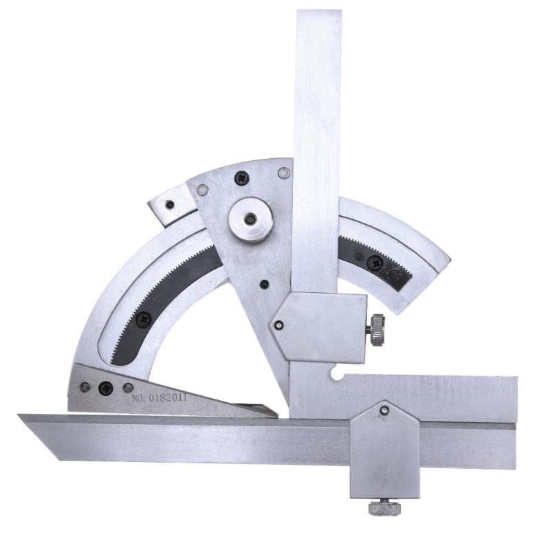 Image 4 - Universal Protractor 0 320 Degree Precision Goniometer Angle Measuring Finder Ruler Tool Woodworking Measuring Tool Dropship-in Protractors from Tools