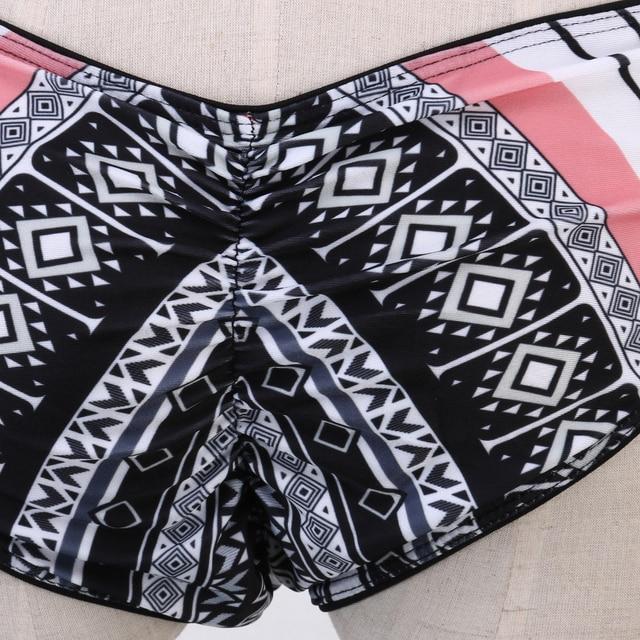 Hot Bikini Set 2019 Women Push up Bikini padded bandage swimwear swimsuit Beach Bathing Suit 10