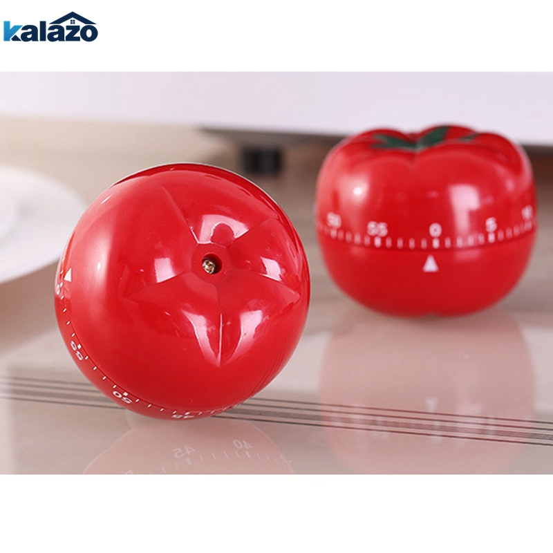 Newly Timer Mechanical Cute Apple egg tomato Kitchen Cooking Timer Alarm 60 Minutes 360 Degree Stainless Steel Fruit Shape in Kitchen Timers from Home Garden