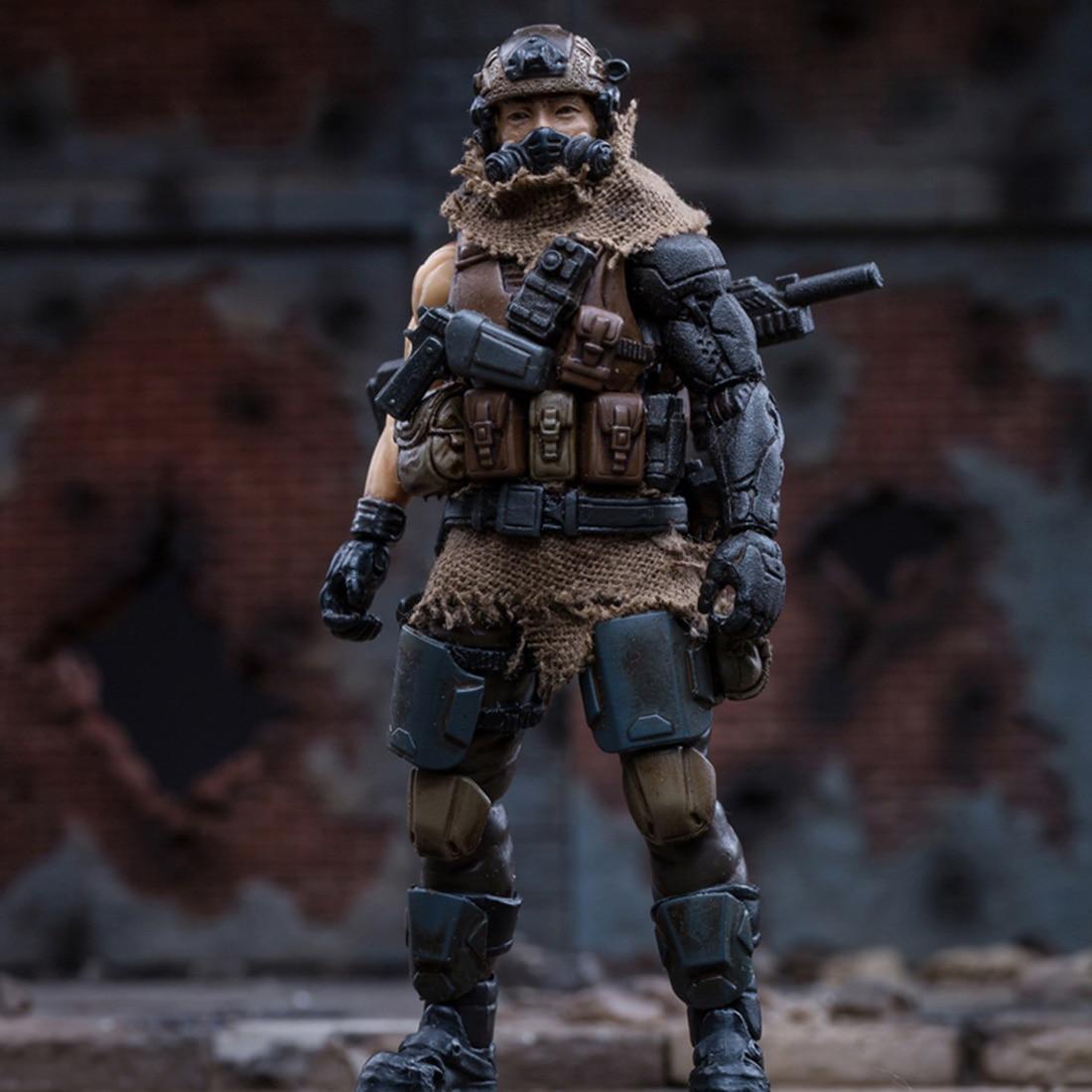 10cm 1/18 Lifelike Soldier Model With Equipment 3D West Asian Mercenary Legion DIY Assembly Fine Soldier Model Creative Toy