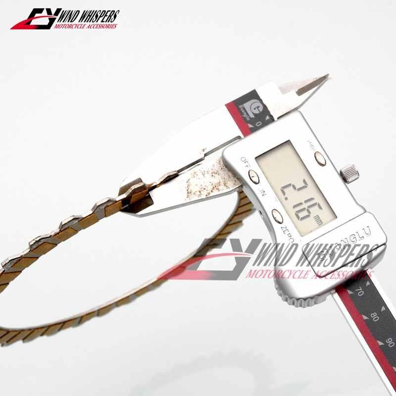 Motosiklet Için Kağıt taban sürtünmeli kavrama Diskler tabaklar Suzuki GSX1100F Katana 1100 GSX1100G GSX1100 GSX 1100 1991-1992-1993