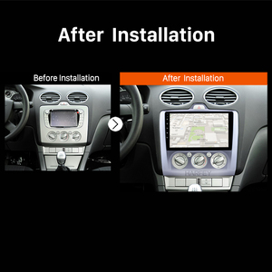 Image 5 - Harfey 2din 9 אינץ עבור 2004 2011 פורד פוקוס 2 רכב אוטומטי מולטימדיה נגן אנדרואיד 8.1 רדיו GPS 3G WIFI OBD2 RDS Bluetooth SWC