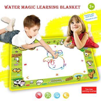 57*38 CM Çizim Oyuncaklar Su çizim matı Kurulu Boyama ve Yazma Doodle Sihirli Kalem Ile toksik Olmayan Çizim çocuklar için