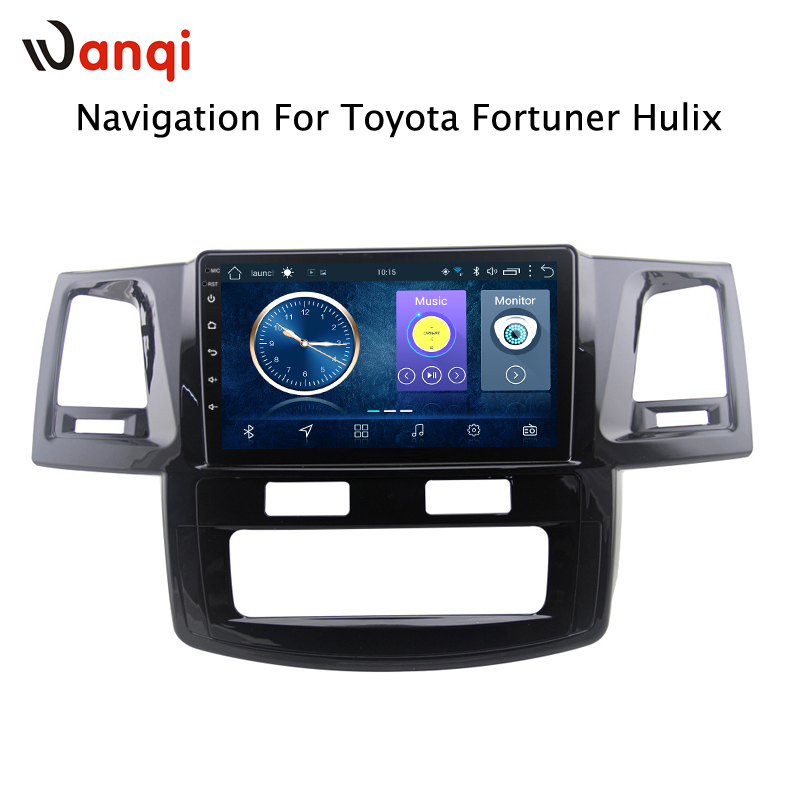 9 Inch Android 8.1 GPS navigation For toyota Fortuner 2007-2015 Hulix Car multimedia player9 Inch Android 8.1 GPS navigation For toyota Fortuner 2007-2015 Hulix Car multimedia player