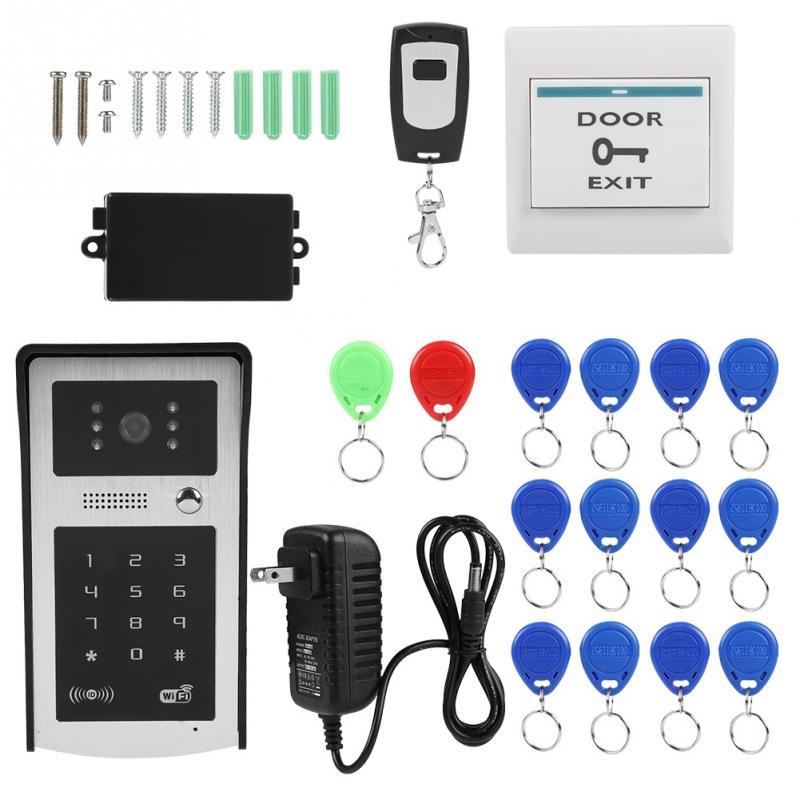 Aliexpress Com Buy 1 Set Wireless Keypad Intercom Door